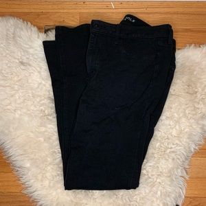 Nwot AEO black knit jegging